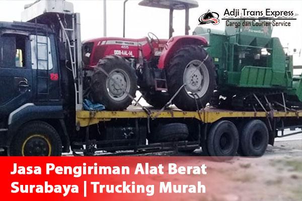 Jasa Pengiriman Alat Berat Surabaya Trucking Murah